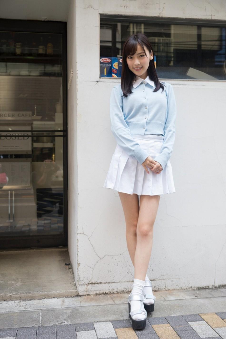 16岁少女微乳_清爽透心无负担 微乳美少女最新写真激发保护欲(16)