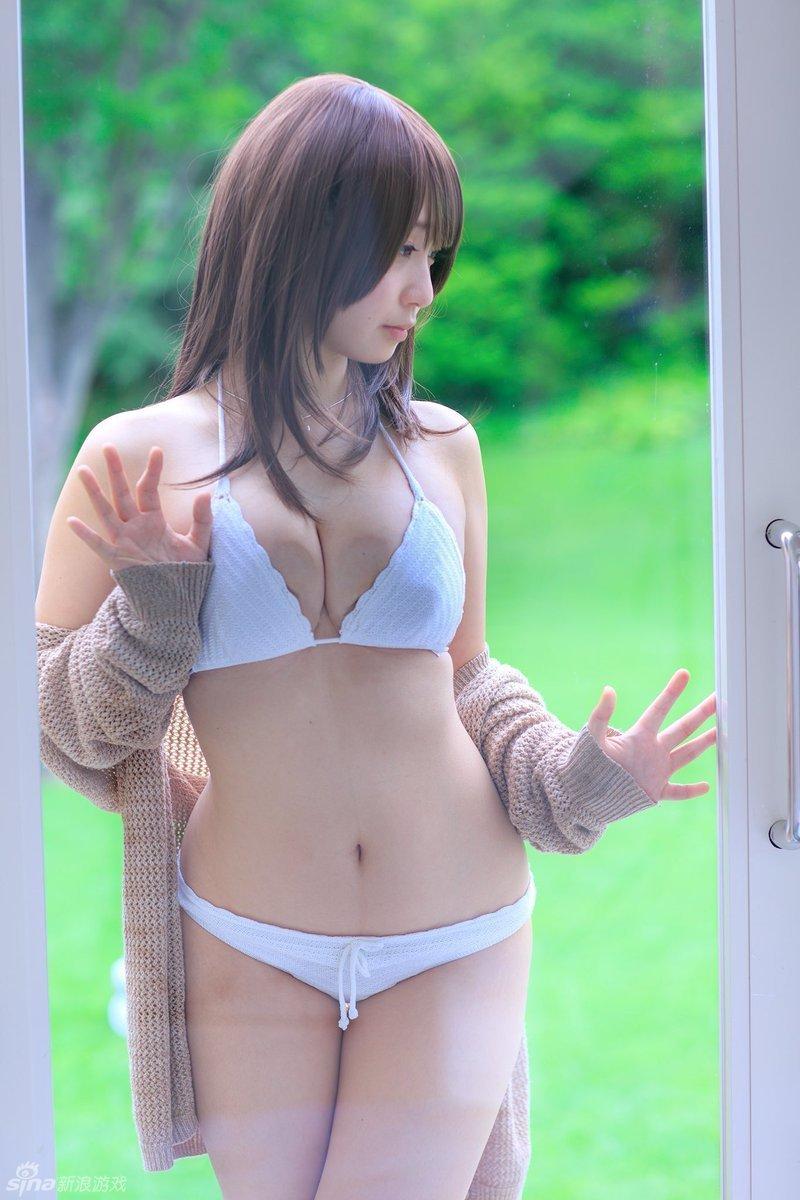 日本童顏coser伊織萌放出睡衣版D.Va