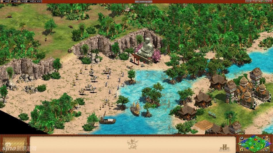 《帝國時代2》新DLC高清畫面