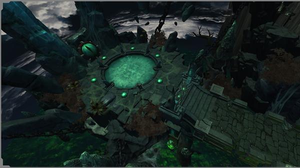 《大青雲》遊戲場景