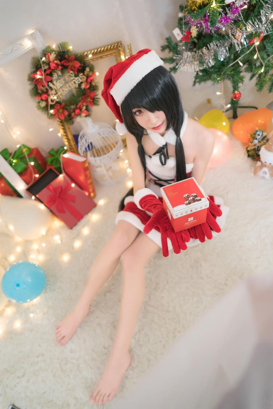 極品美少女陪你過聖誕 天天Cosplay福利精選