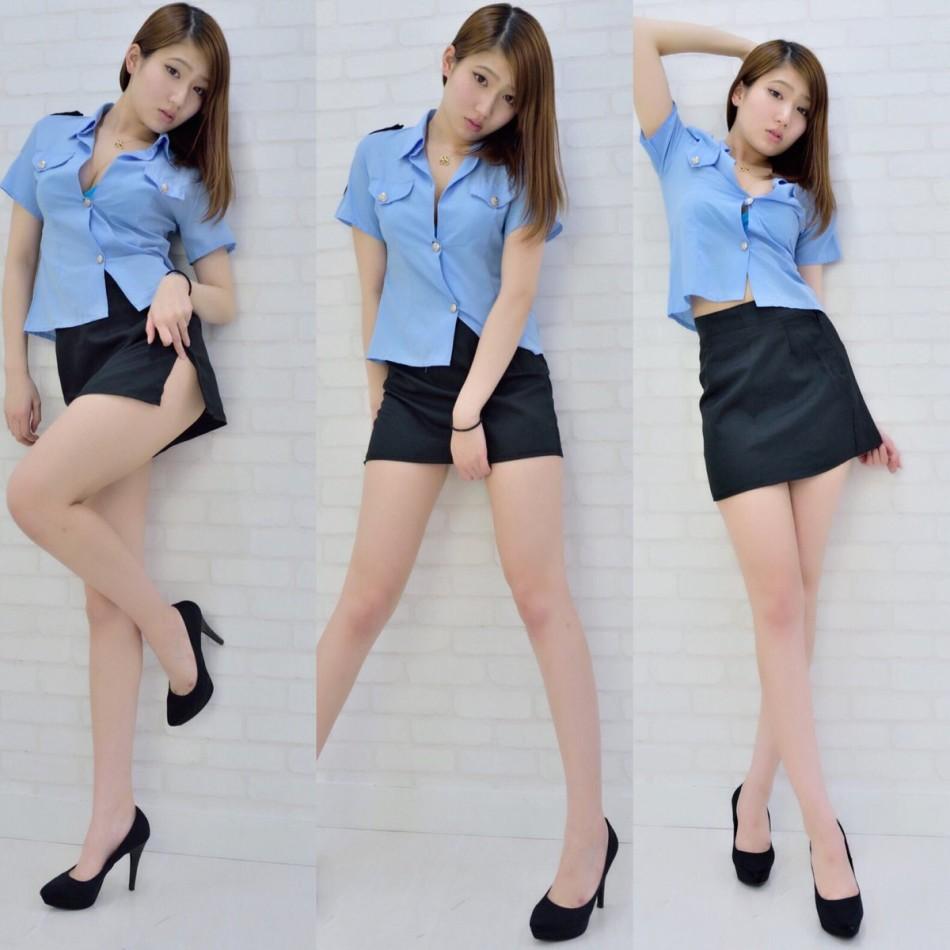 11區新晉長腿模特宅屬性滿點 身材更是沒得說