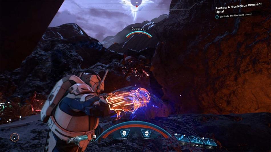 《質量效應:仙女座》最新遊戲截圖