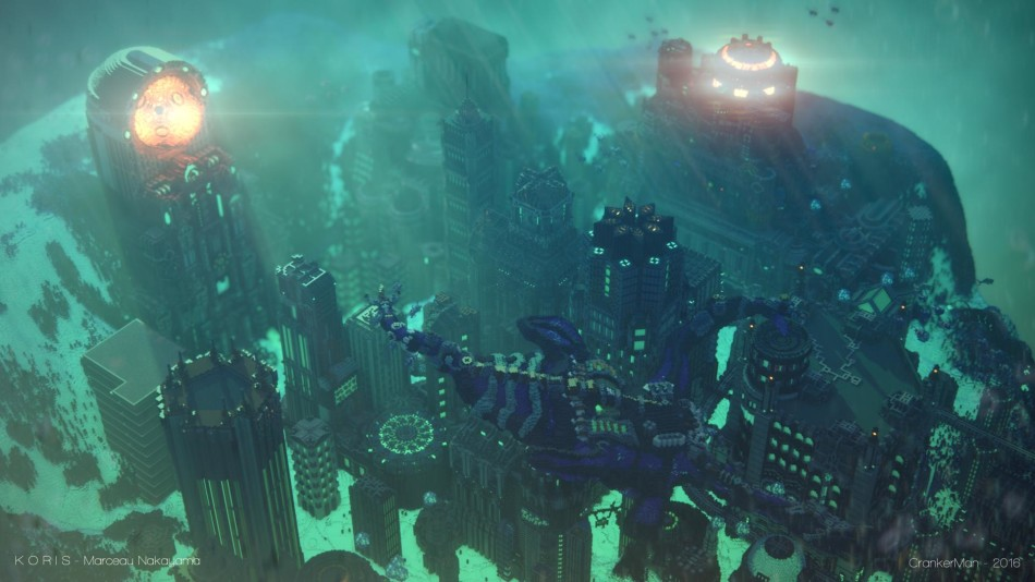 驚人的《Minecraft我的世界》遊戲藝術
