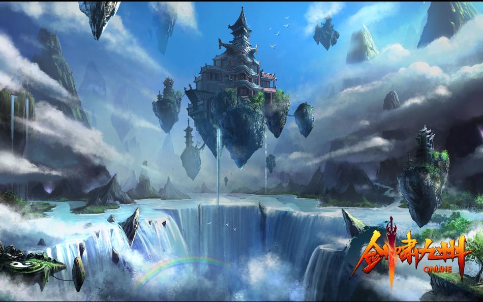 《劍嘯九州》遊戲桌布