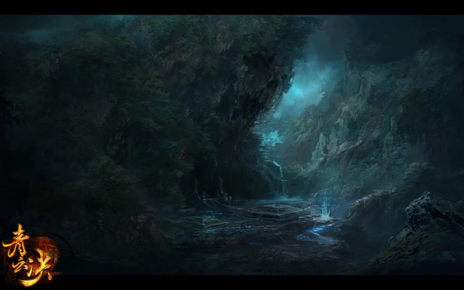 《青雲決》遊戲原畫