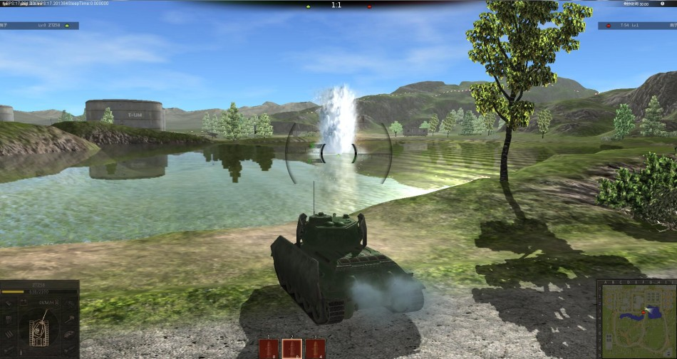 《陸戰傳奇》遊戲截圖
