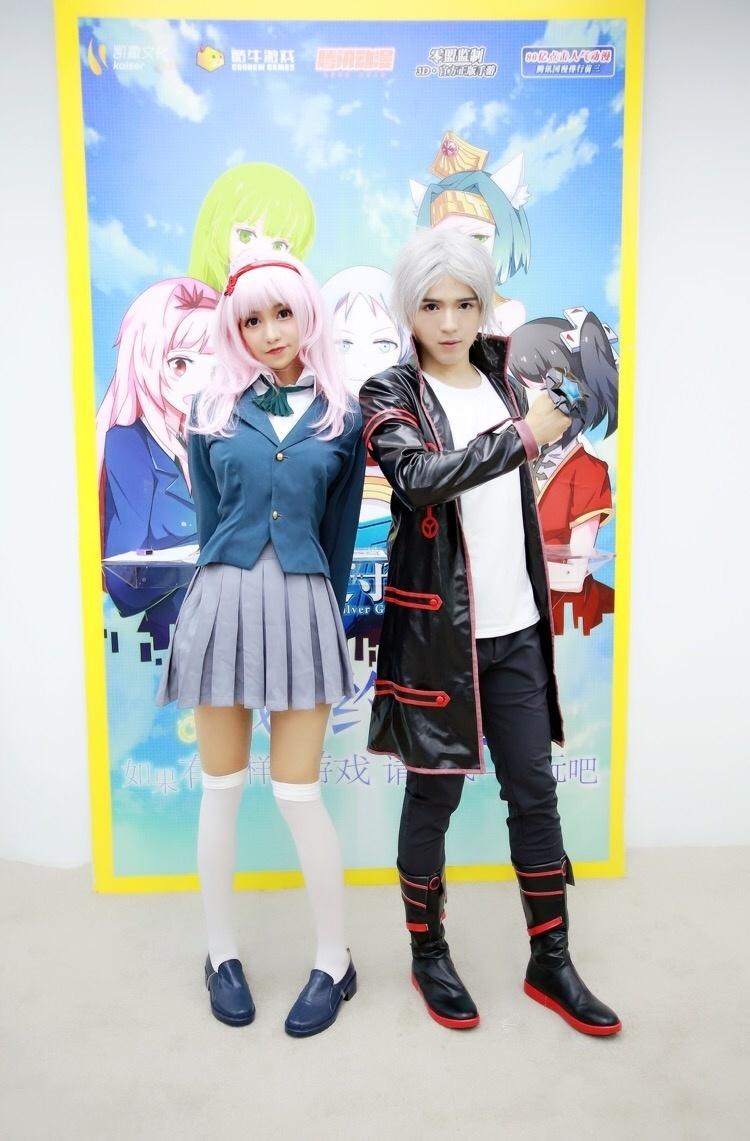 cj2017《銀之守墓人》陸憐&陸水銀cosplay