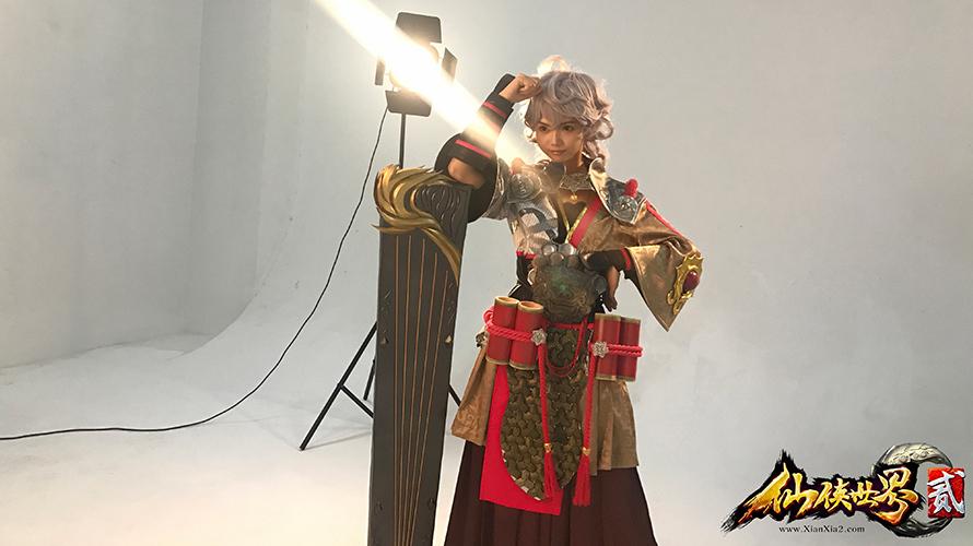 仙俠世界2官方cos拍攝花絮