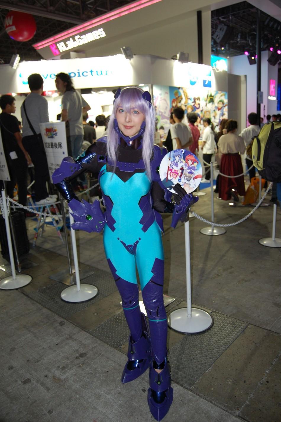 日本東京電玩展Showgirl賞析