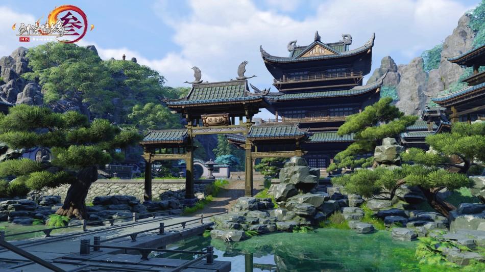 《劍網3》重制版二測次世代高清圖集