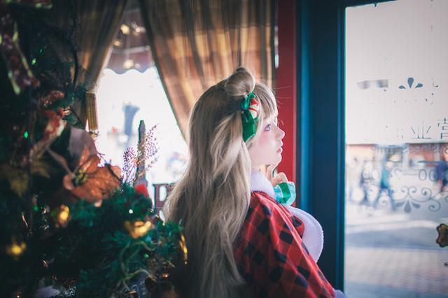 超萌萝莉 南小鸟圣诞Cosplay