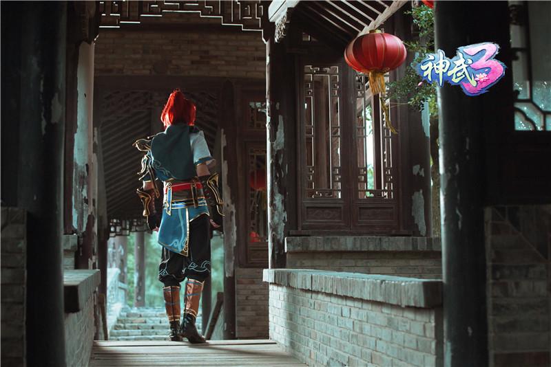 值得細細品味 《神武3》凌霜月葉青峰唯美COS