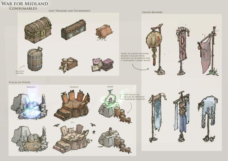 《末世騎士3》畫師遊戲原畫欣賞