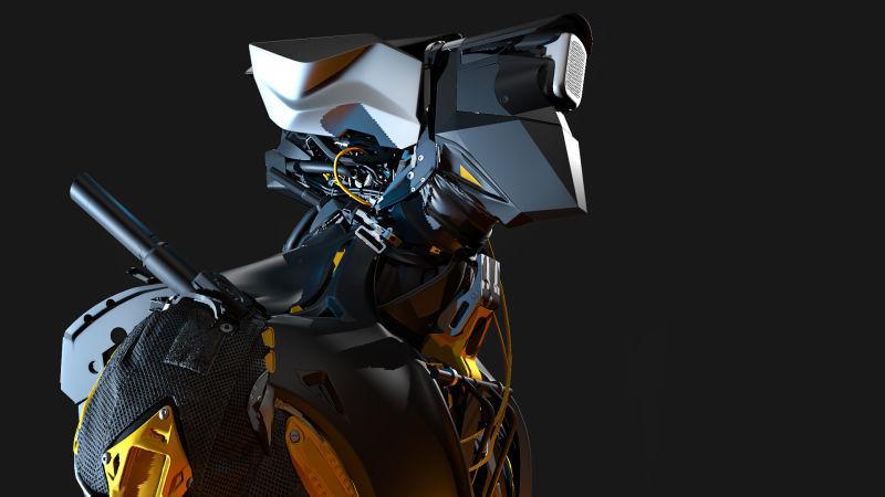正妹與機甲3D模型圖集