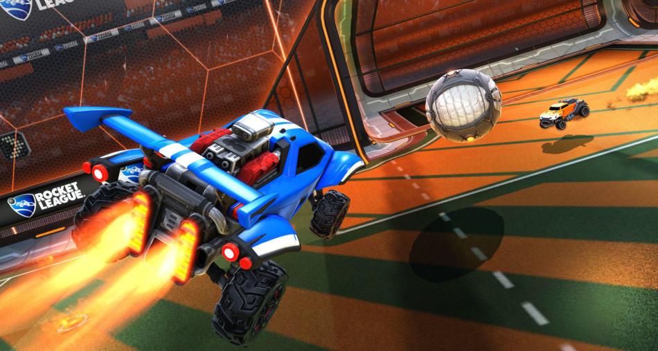 《火箭聯盟》遊戲截圖