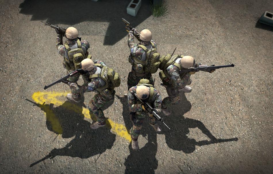 《戰地聯盟》遊戲桌布