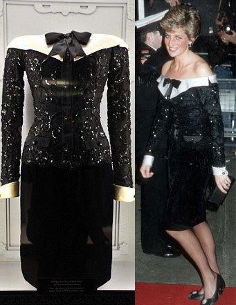 华丽唯美 戴安娜王妃服装展