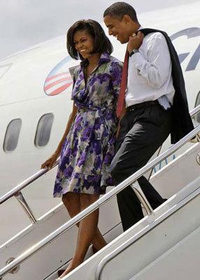 奥巴马普京英女王 政客时尚造型盘点