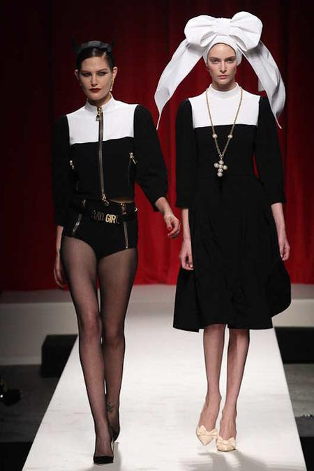 Moschino 2014春夏女装秀发布 2014春夏米兰时装周