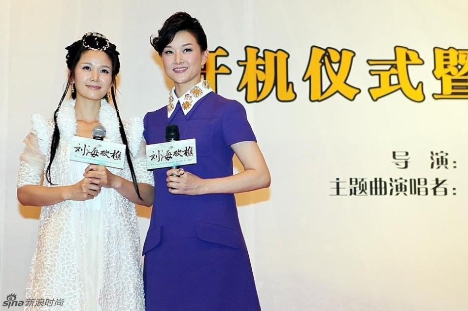 刘亦菲家族照3代皆美女 明星美貌亲戚盘点