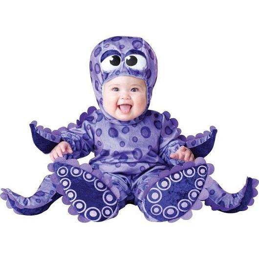 小宝宝动物变装照风靡网络 呆萌可爱