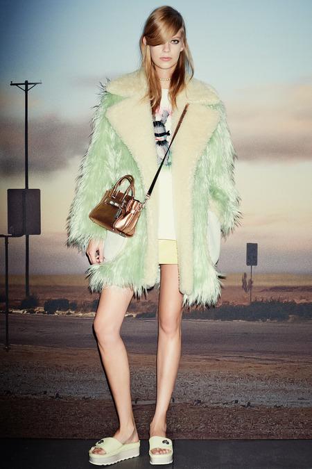 纽约时装发布会 2015春夏时装周 Coach(蔻驰) 时装秀图片