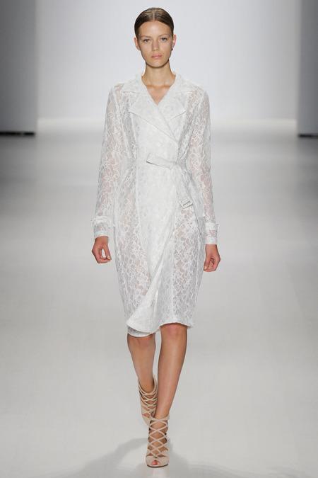 纽约时装发布会 2015春夏时装周 Tadashi Shoji 时装秀图片