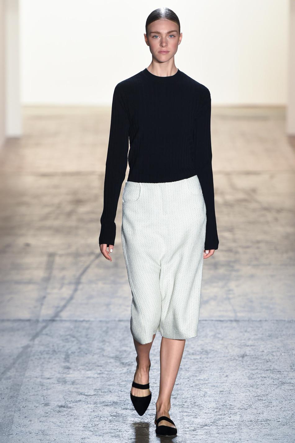 纽约2015春夏时装秀 Wes Gordon 时装秀图片