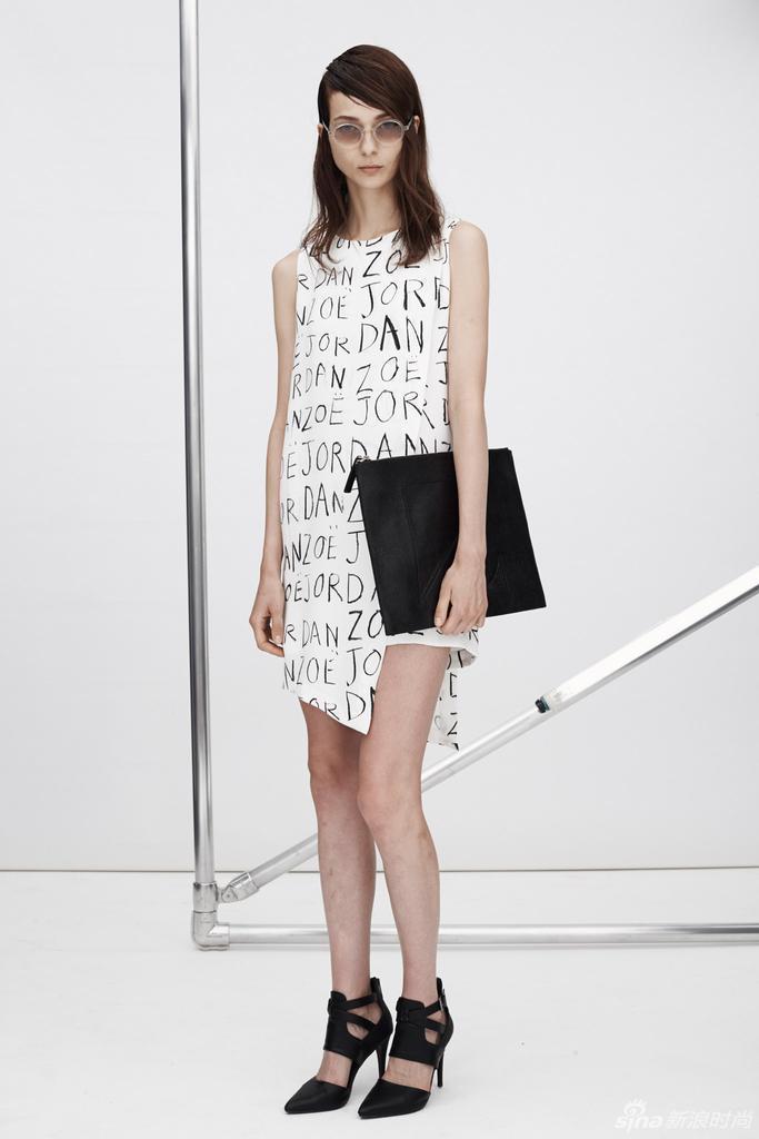 2015春夏上海时装周 时装走秀 Zoe Jordan 品牌走秀图