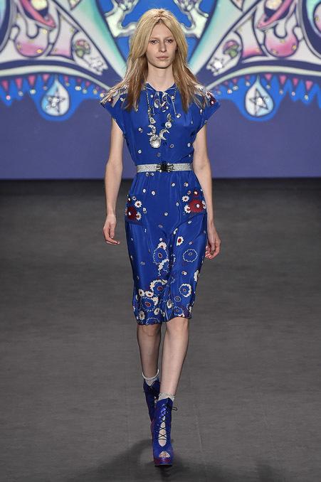 纽约2015春夏时装秀 Anna Sui 时装秀图片