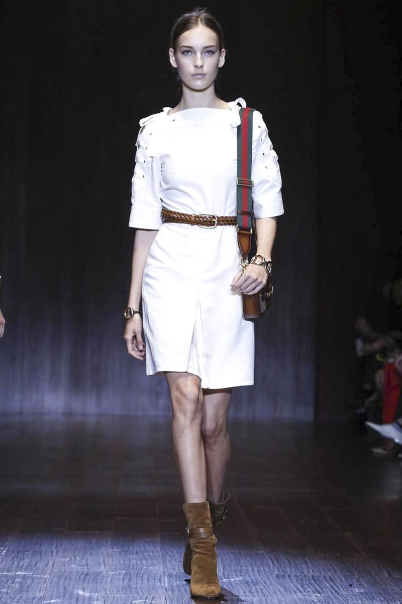 2015米兰时装秀 Gucci 古驰春夏时装周图片