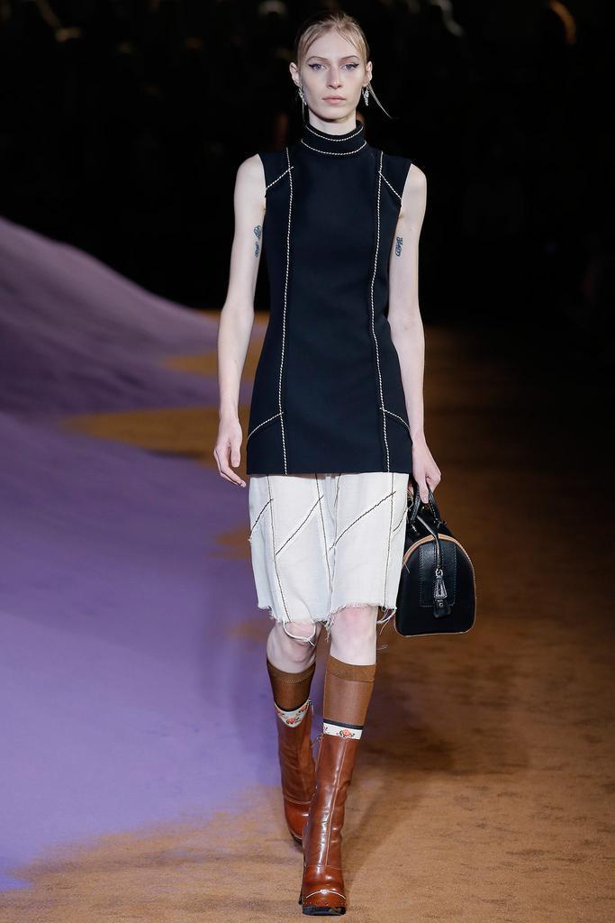2015春夏米兰时装周发布会 普拉达Prada 时装秀图片