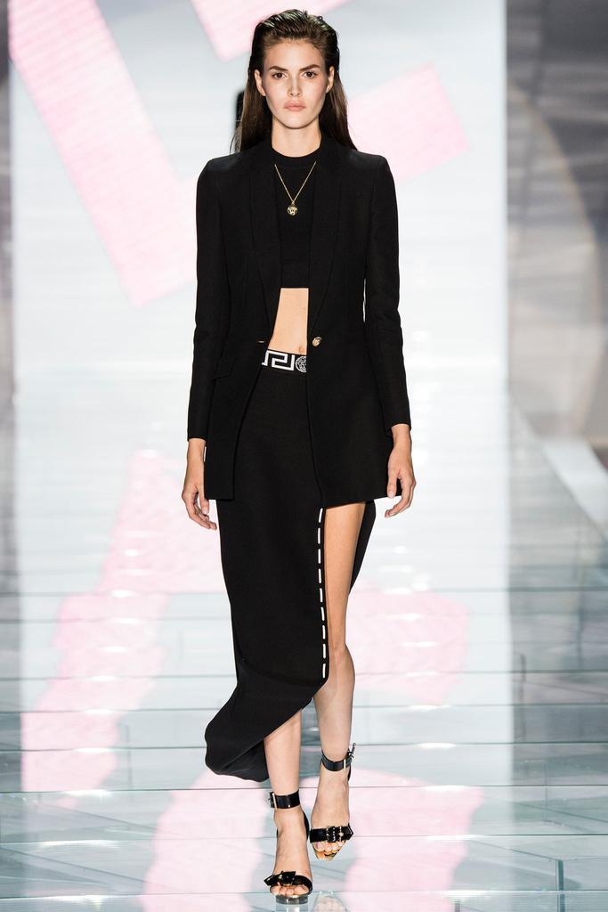 2015年Versace 春夏高级定制发布秀