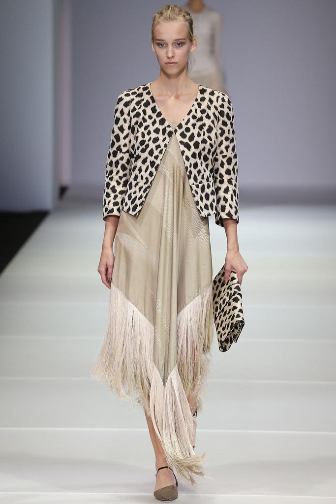2015年 Giorgio Armani 乔治・阿玛尼春夏高级成衣米兰时装周发布秀
