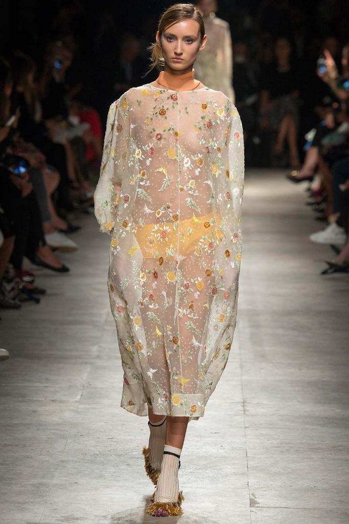 2015年 春夏高级成衣发布秀 Rochas 巴黎罗莎 时装图片