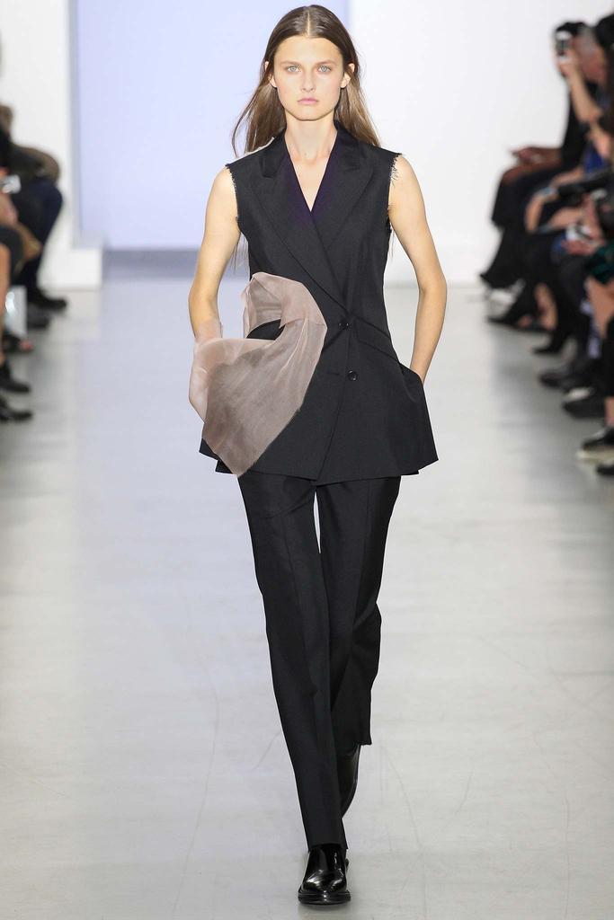 巴黎时装周 2015春夏 华裔设计师 杨丽YANG LI  时装秀图片