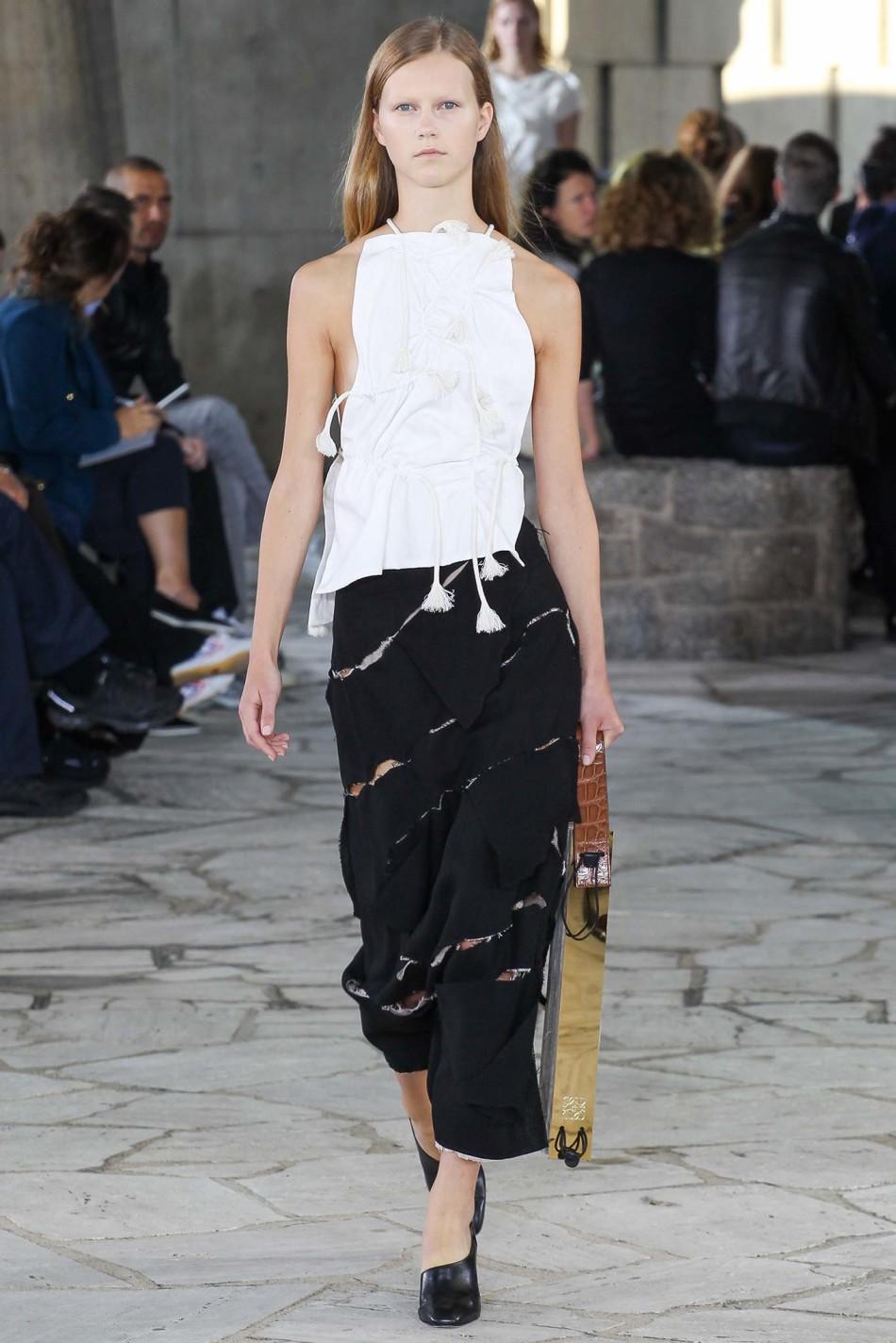 巴黎时装周 2015春夏 Loewe 罗意威 时装秀图片
