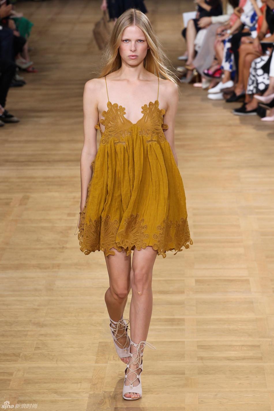 Chloe 2015年 春夏高级成衣,巴黎时装周 图片