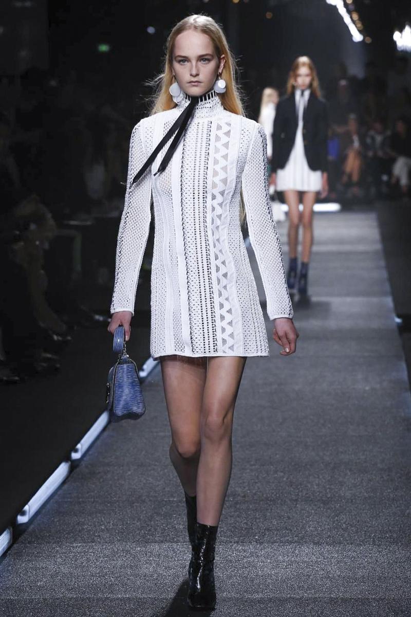2015春夏巴黎时装周发布会  Louis Vuitton 路易威登 时装秀图片