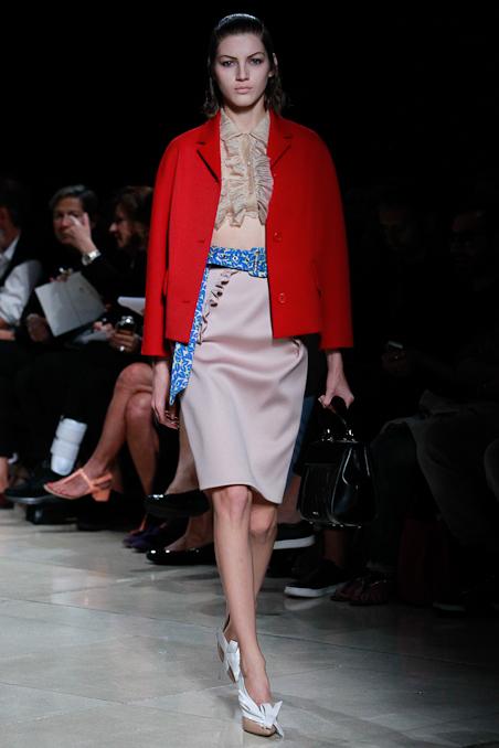 巴黎时装周 2015春夏 Miu Miu 缪缪 时尚潮流时装秀图片