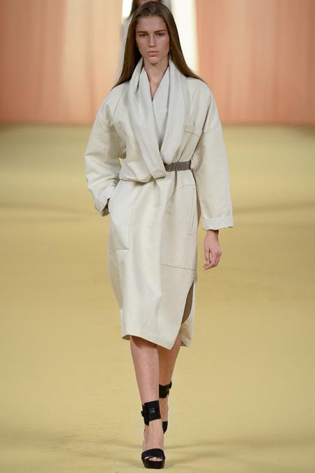 法国巴黎时装秀 2015春夏 Hermès 爱马仕 走秀图