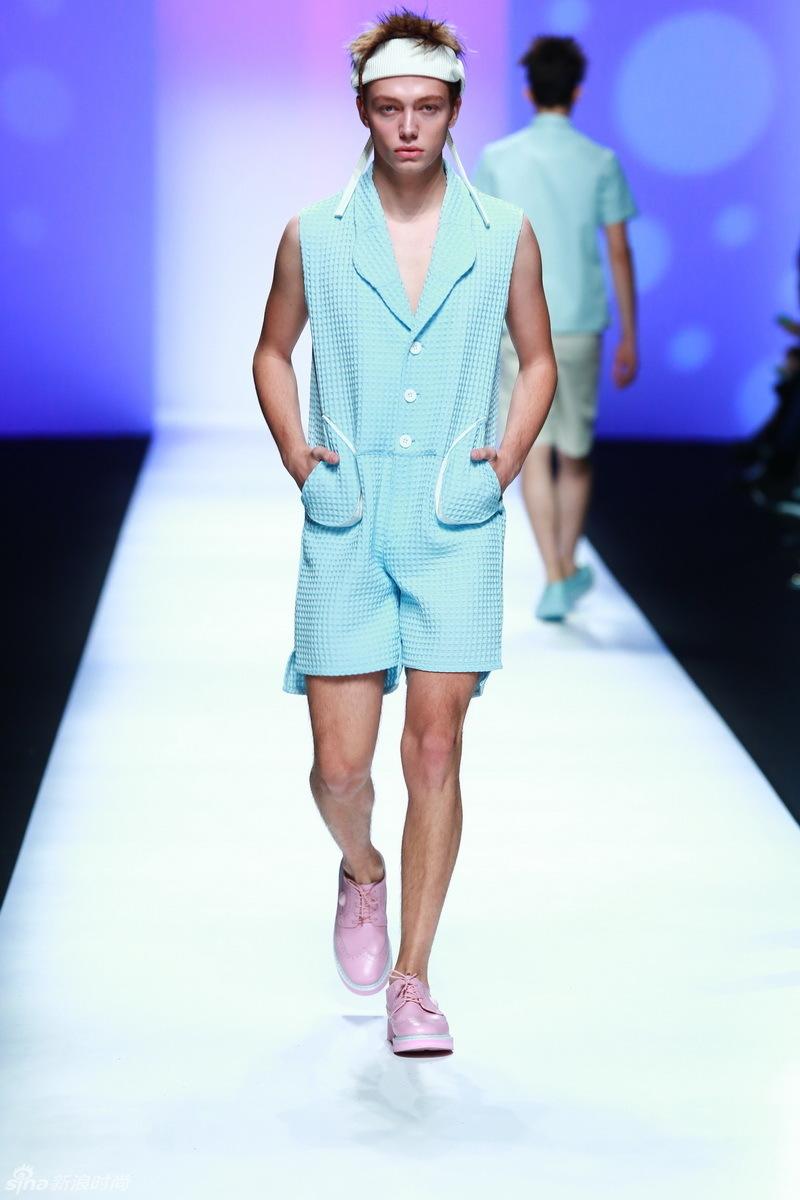 Y-VISON HOMM男装秀 上海时装周秀场 2015春夏上海国际时装周