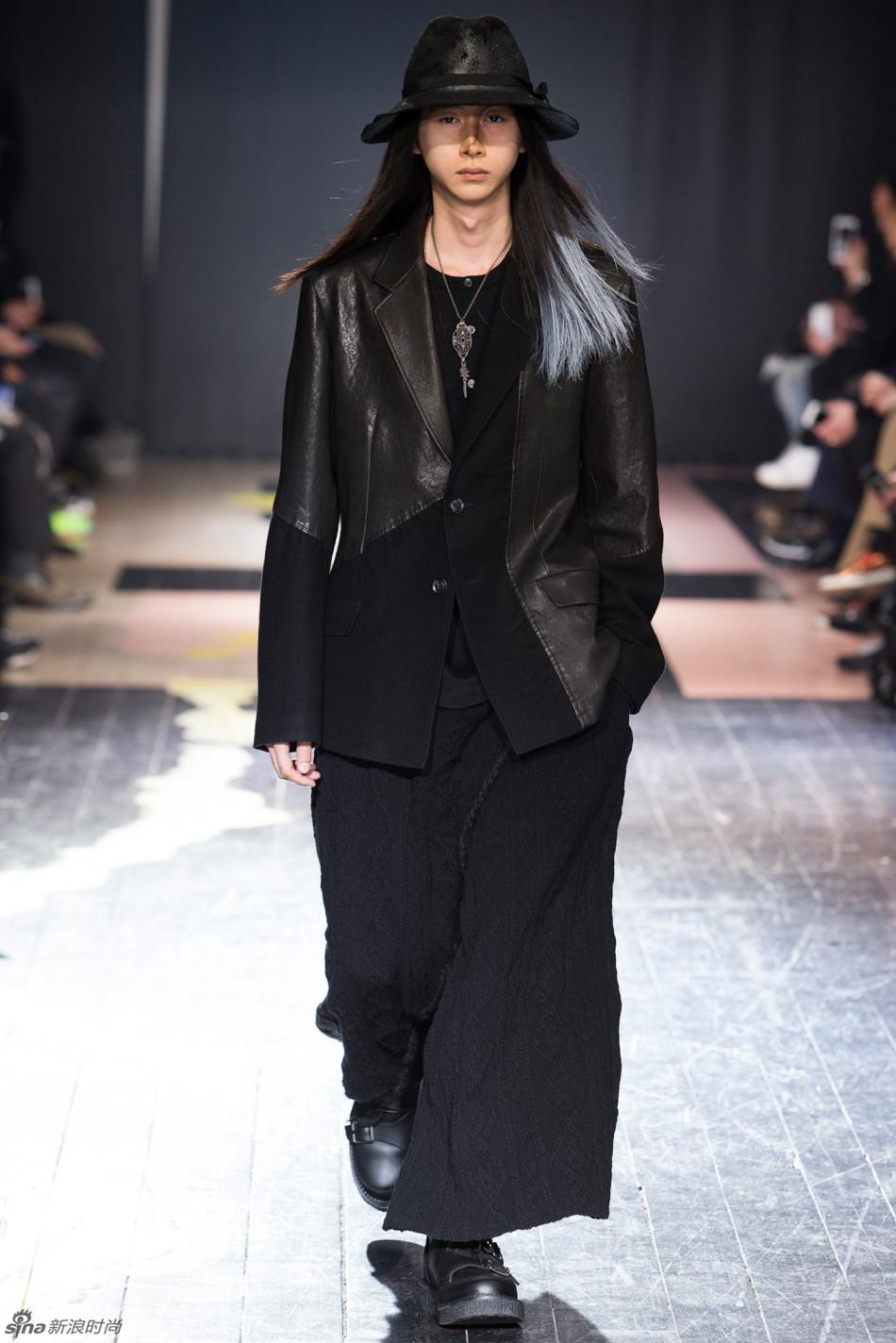 另类风潮 Yohji Yamamoto 2015秋冬男装系列
