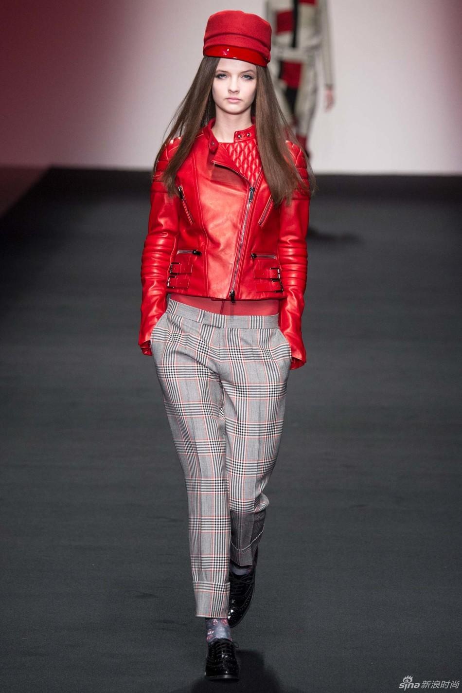 伦敦时装发布会 2015秋冬时装周  Daks 时装秀图片