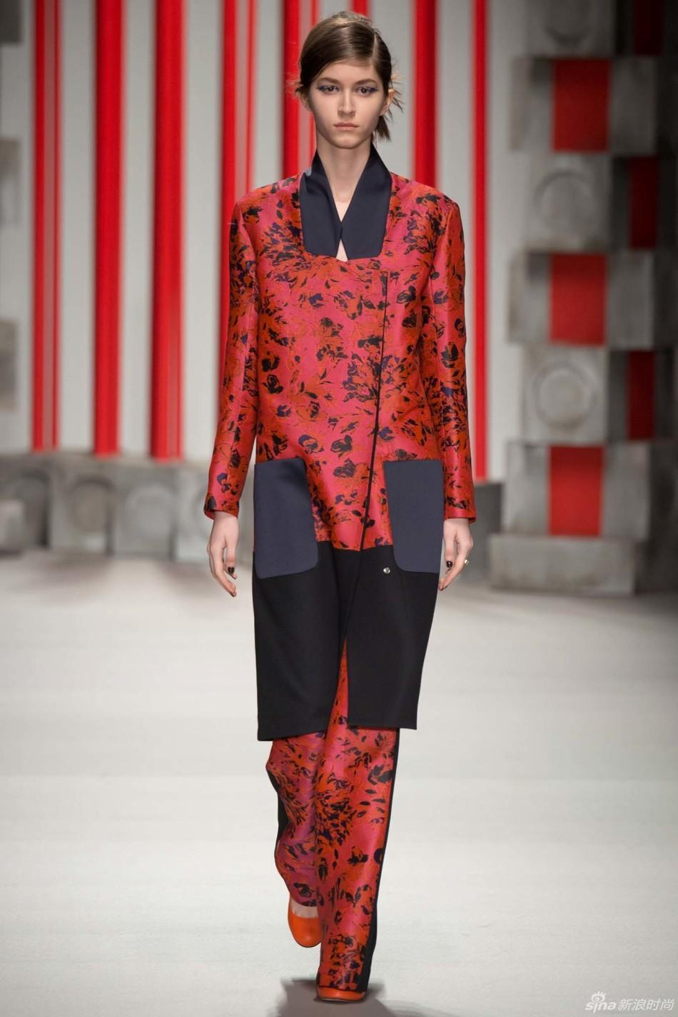 2015年 秋冬高级成衣 Eudon Choi(尤登・崔) 伦敦时装周 图片