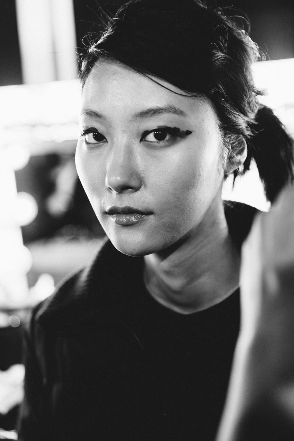 Eudon Choi 2015秋冬系列秀场后台