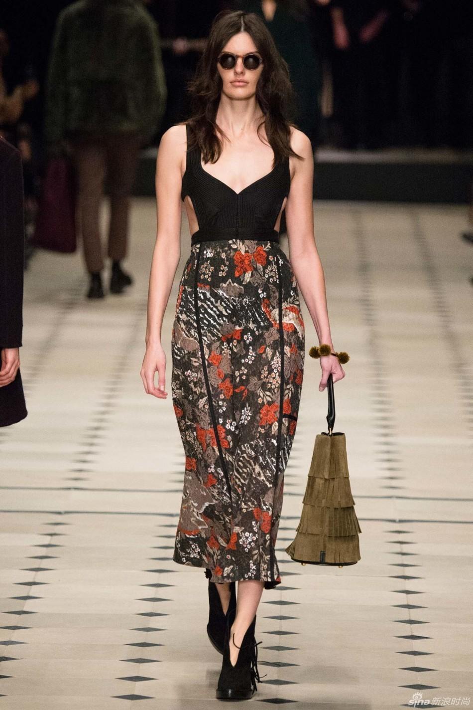 2015秋冬伦敦时装时装周 Burberry Prorsum 巴宝莉 发布会图
