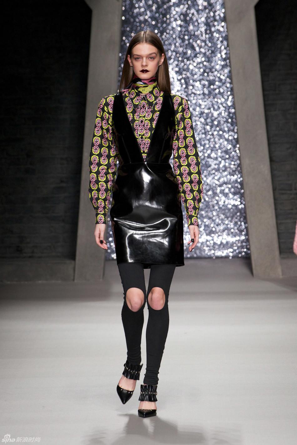 2015年 秋冬高级成衣 Ashley Williams 伦敦时装周 图片