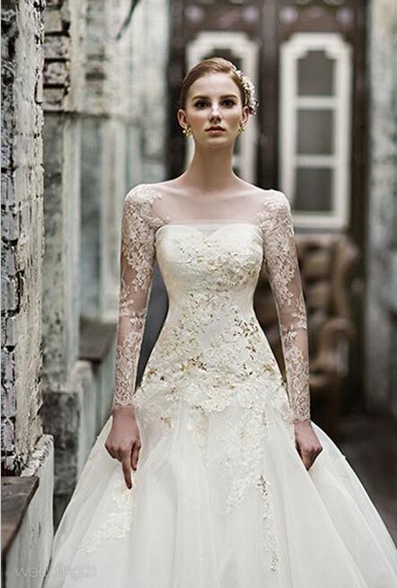婚纱拖尾最新款图片_最新款婚纱礼服